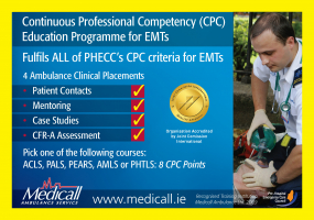Continuous Professional Competency (CPC) Education Programme for EMTs